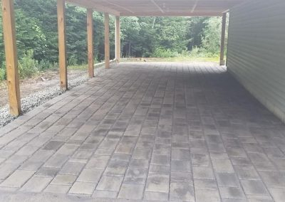 paver patio carport