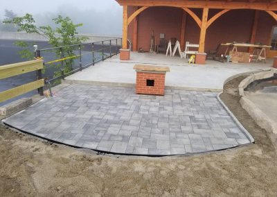 Four Seasons Landscaping NH VT ME Leo J Enos hardscaping commercial Lancaster New Hampshire Vermont Maine