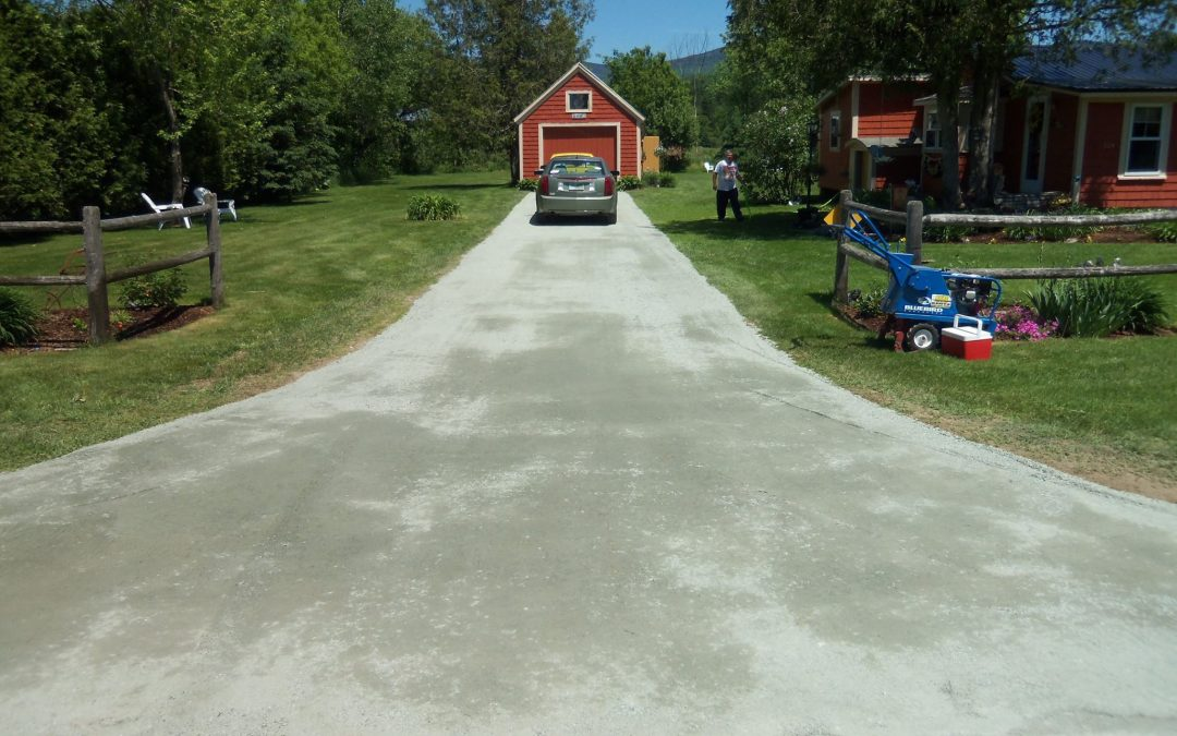 North Road Driveway Makeover