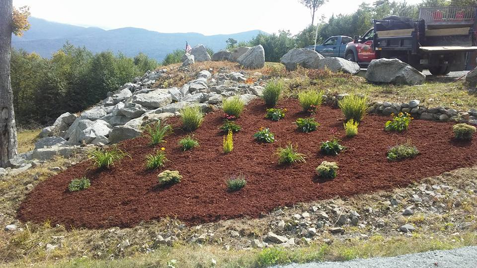 Four Seasons Landscaping NH Leo Enos Easton NH residential landscape and hardscape