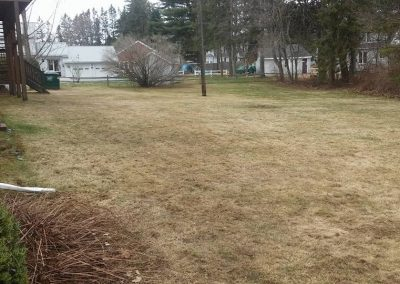 Four Seasons Landscaping NH Leo Enos Spring Clean Up Lancaster NH commercial residential landscaping maintenance