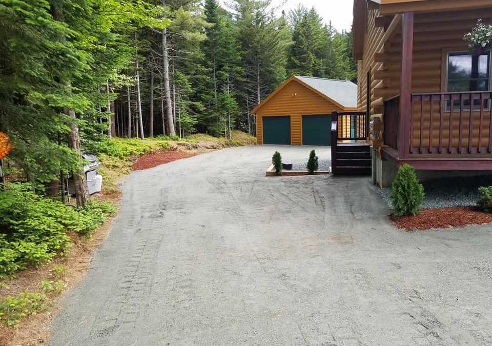 Staymat Driveway at the Log Cabin